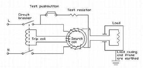 elcb and mcb electronics hobby rh dmohankumar wordpress com wiring diagram for elevator wiring diagram for electric dryer