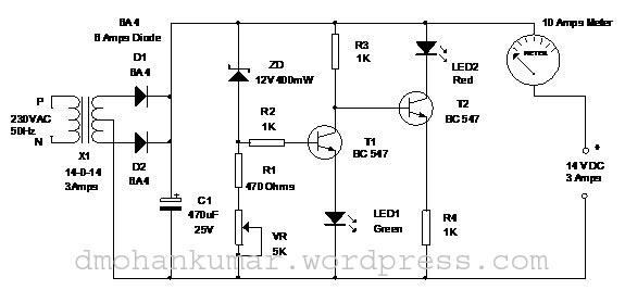3 amps battery charger  u2013 mohan u0026 39 s electronics blog