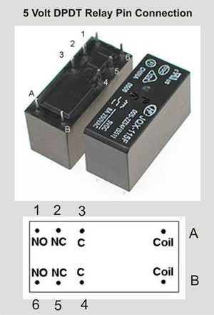 relay electronics hobby multimeter testing
