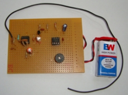 Mobile Bug Circuit on Common PCB