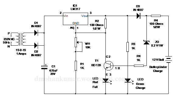 Diagrams Wiring : Battery Charger Transformer Wiring
