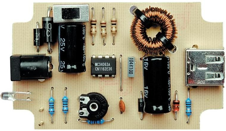 The Circuit Of Mobile Phone Charger Batterycharger Powersupply