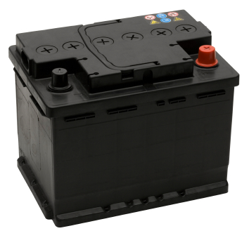 Car battery low voltage level