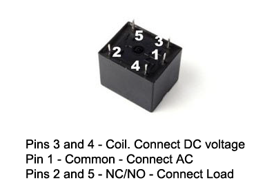 5-VOLT-RELAY-CONNECTION