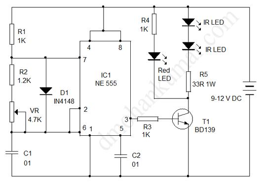 design your circuit  part iv  u2013 ir transmitter