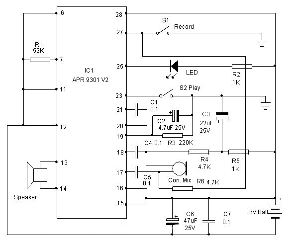 design your circuit part x \u2013 voice recorder \u2013 mohan\u0027s electronics blogSound Voice Recorder Circuit Schematic #5