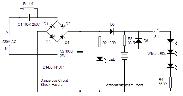 Ac Dc Light Wiring - Schema Wiring Diagrams Dc To Ac Wiring Diagram on