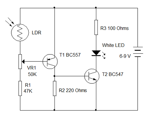 Child\'s Lamp. Beginners Trial 5 | electronics hobby