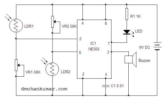 Movement Detector. Sensor Circuit.4