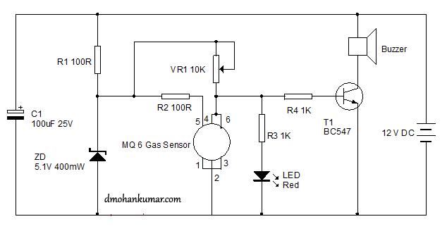 Mq 6 Circuit Diagram - Wiring Diagram Content
