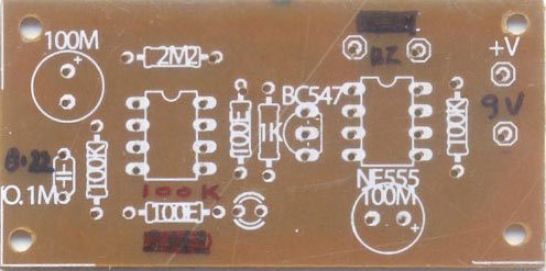 MOBILE BUG - PCB COMPONENT SIDE