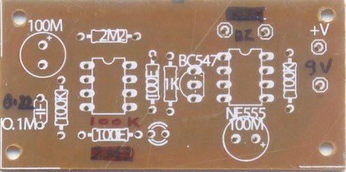 移动错误 -  PCB组件侧