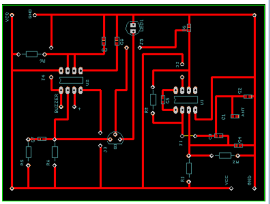 MOBILE-BUG-PCB-LAYOUT