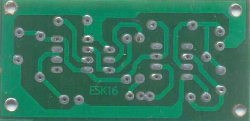 MOBILE BUG - PCB TRACK SIDE
