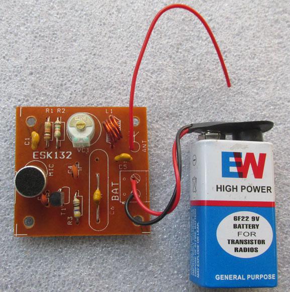 ultra simple fm transmitter electronics hobby. Black Bedroom Furniture Sets. Home Design Ideas