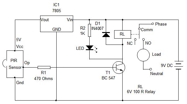 pir light switch