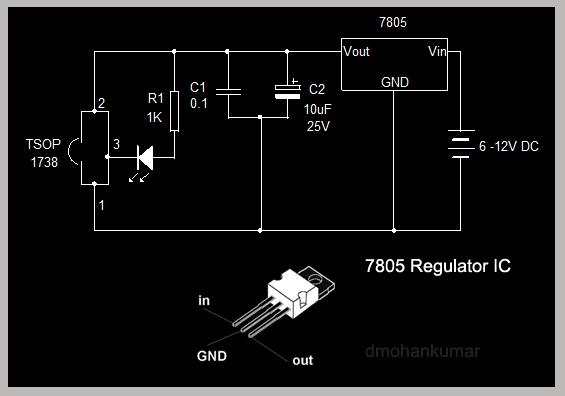 how to make tsop 1738 circuits design note 4 \u2013 mohan\u0027s electronicstsop 1738 power supply 2