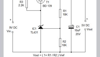 TL431 Shunt Regulator switch  Design Trick 4 – Mohan's electronics blog