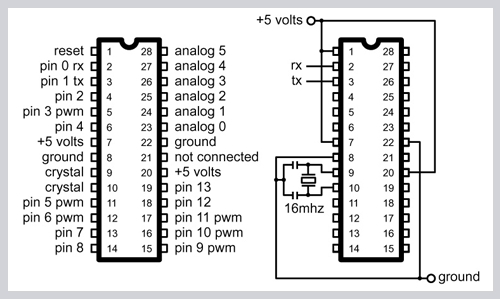 Ultrasonic Sensor Circuit together with  also Index php moreover Circuito  lificador Lm1877 likewise Remote Control Ultrasonic Switch L7858. on arduino nano diagram