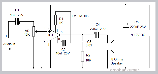 LM-386-AUDIO-AMPLIFIER