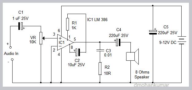 LM-386-AUDIO-AMPLIFIER