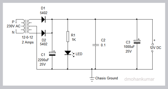 POWER-SUPPLY-FOR-AMPLIFIER