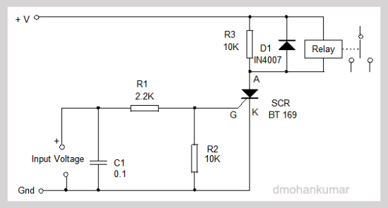 SCR-Latching-Circuit