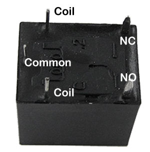 PCB-Relay-Pin-connection