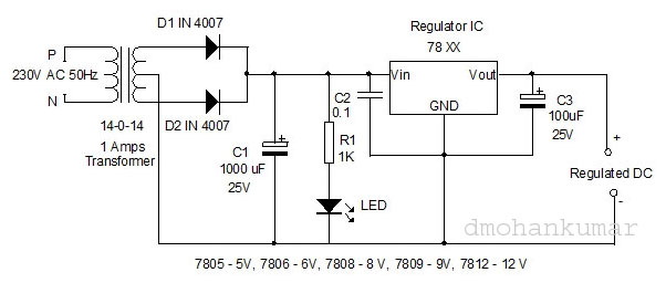 Regulated-Battery-Charger