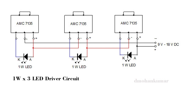 1W-3-LED-DRIVER-CIRCUIT