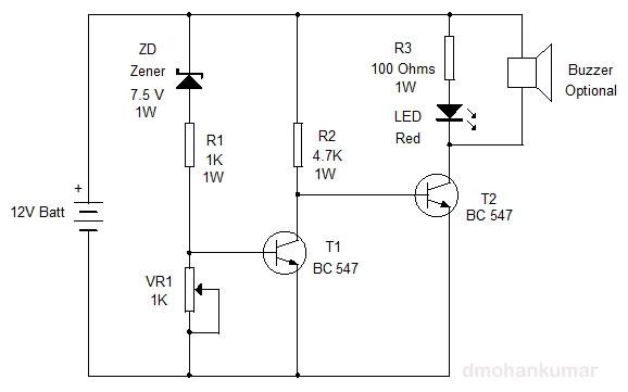 Battery-level-Indicator-Cir