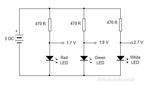 LED-as-Zener