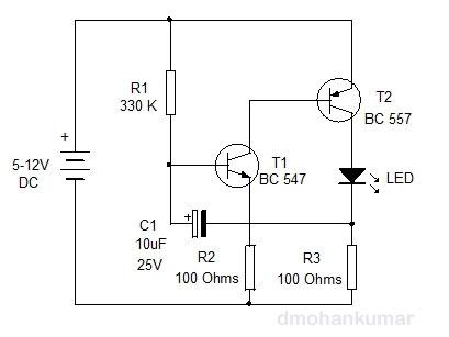 LED Flasher. Design Note 34 | electronics hobby
