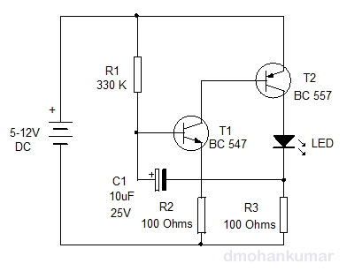 LED-Flasher-Circuit