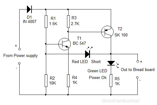 Short-Circuit-Indicator-for