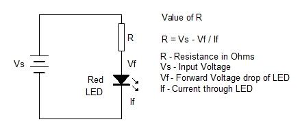 ohms law and led resistor simple design 1 \u2013 mohan\u0027s electronics blog40 Watt Led Emergency Tubelight Circuit Using 1 Watt 350 Ma Leds #16