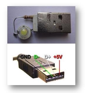 USB LIGHT 5