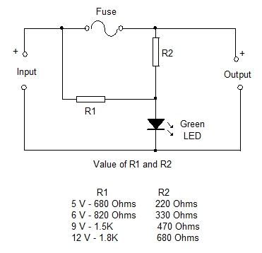 blown fuse indicators simple design 10 mohan s electronics blog rh dmohankumar wordpress com Blown Fuse Glass Blown Fuse in Breaker Box