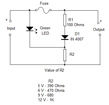 Fabulous Blown Fuse Indicators Simple Design 10 Mohans Electronics Blog Wiring Digital Resources Lavecompassionincorg