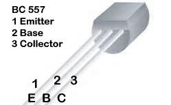 BC 557 Pins