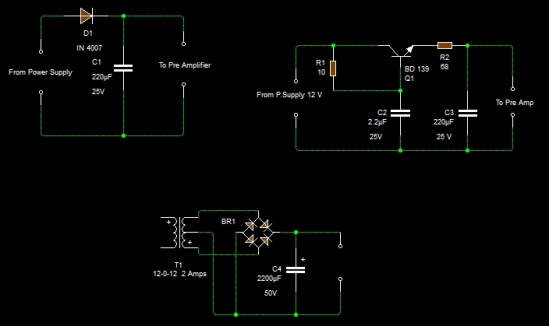 HUM REDUCTION CIRCUIT
