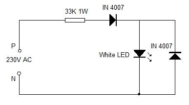 LED IN AC