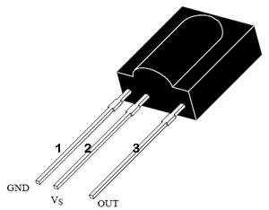 TSOP 1738 Pins