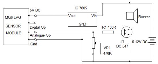 LPG Sensor Module. Component Guide 3   electronics hobby