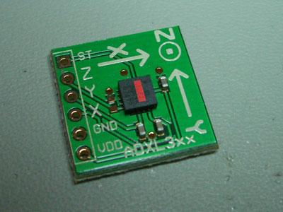 Accelerometer Chip