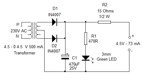 Charger For 3 6v Battery Home Utility Circuit 1 on transformer schematic diagram