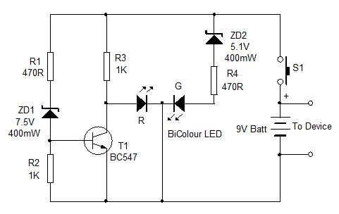 battery monitor circuit