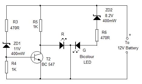 Led Panel Emergency Lamp Home Utility Circuit 21