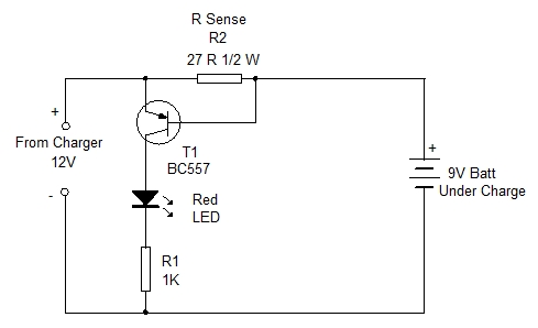 CHARGE INDICATOR CIRCUIT