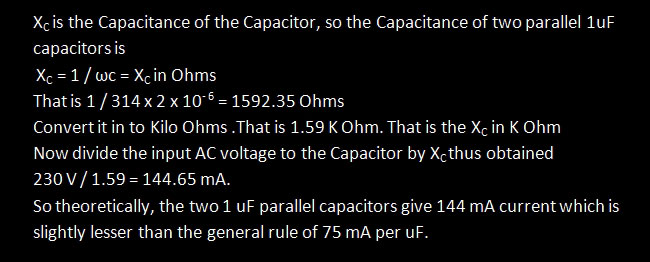 Current-from-X-Capacitor